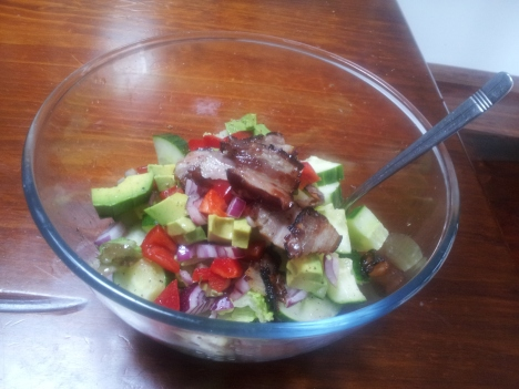 My Paleo Alkaline salad - Got most of the recipe from Organichabit